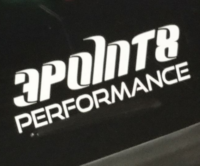 3.8 Performance Sticker